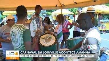 Carnaval em Joinville acontece neste sábado (22) - Carnaval em Joinville acontece neste sábado (22)