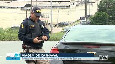PRF usa novo bafômetro nas rodovias durante fiscalização no carnaval no MA - A expectativa é de muita movimentação nas rodovias maranhenses.