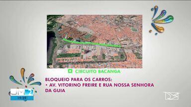 Trânsito sofre mudanças para o carnaval em São Luís - Confira as alterações na região dos principais circuitos.