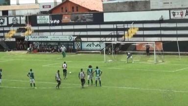 Athletic Club goleia Mamoré e lidera Módulo 2 do Mineiro - Esquadrão de Aço fez 3 a 0 no Estádio Joaquim Portugal, em São João del Rei
