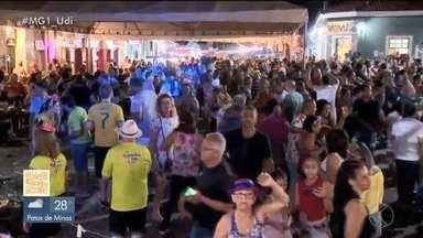 Shows, blocos e muita animação no carnaval em Nova Ponte, Paracatu e Santa Vitória - Reportagem do MG1 acompanhou a festa em diferentes cidades. Em Nova Ponte, atração principal foi o mineiro Lucas Lucco. Teve também matinê e muito mais.