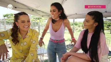 Maiara e Maraísa falam da emoção de cantar no 'SóTocaTop' após temporada apresentando - Dupla conversou com Jade Seba