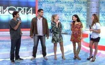 Elenco de A Favorita se enfrenta no Video Game - A disputa da semana vai ferver com Thiago Rodrigues, Alexandre Schumacher, Emmanuele Araújo e Giovanna Ewbank.