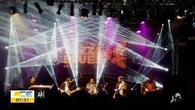 Festival Jazz e Blues chega a Fortaleza - Saiba mais em g1.com.br/ce