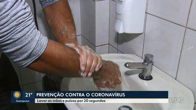 Secretária de Saúde tira as dúvidas sobre o coronavírus - A principal dica é lavar as mãos e pulsos e não espirrar na palma das mãos