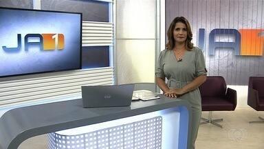 Veja os destaques do Jornal Anhanguera 1ª Edição - Entre os principais assuntos está carro que precisou ser retirado de dentro de cratera após acidente em Aparecida de Goiânia.