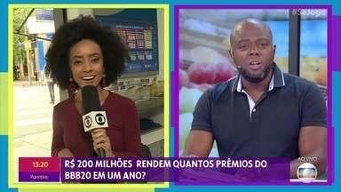 O que você faria se ganhasse R$ 200 milhões? - Prêmio da mega-sena está acumulado e público corre para fazer as apostas