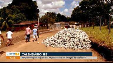 Parque ecológico Augusto dos Anjos continua em situação de abandono - Calendário JPB visitou o local.