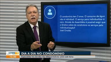 Especialista tira dúvidas sobre condomínios - Inaldo Dantas tira dúvidas dos telespectadores.