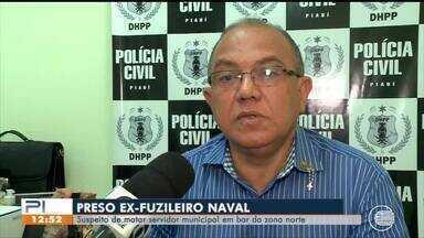 Ex-fuzileiro naval suspeito de matar servidor público em bar da zona Norte é preso - Ex-fuzileiro naval suspeito de matar servidor público em bar da zona Norte é preso