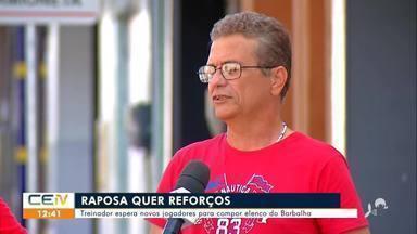 Barbalha espera novos jogadores para compor elenco - Saiba mais em g1.com.br/ce