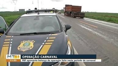 PRF apresenta balanço da operação carnaval - PRF apresenta balanço da operação carnaval