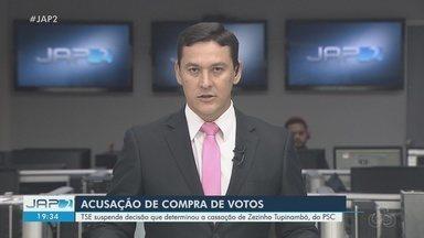 TSE suspende decisão que cassou o deputado estadual Zezinho Tupinambá, no Amapá - Parlamentar perdeu cargo após denúncia de compra de votos julgada pelo Tribunal Regional Eleitoral do Amapá (TRE-AP).