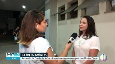 Secretaria de Estado de Saúde investiga caso suspeito de coronavírus em Montes Claros - Segundo a Prefeitura, paciente tem 18 anos e voltou da Itália no dia 17 de fevereiro.
