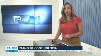 Governo do estado elabora plano de contingência para enfrentar Coronavirus - Ministério da saúde investiga nove casos no Estado do Rio
