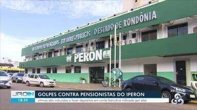 Polícia Civil investiga golpes aplicados contra pensionistas do Iperon em RO - Vítimas são induzidas a fazer depósitos em conta bancária indicada pelos golpistas