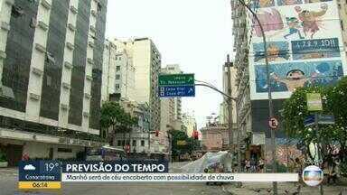 Previsão é de chuva para o Rio de Janeiro nesta sexta-feira (28) - Previsão de chuva a qualquer hora em todas as regiões. Confira a previsão do tempo para o Rio de Janeiro.