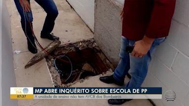 Inquérito civil apura denúncia de irregularidades estruturais em escola municipal - Unidade fica no Parque Alexandrina, em Presidente Prudente.
