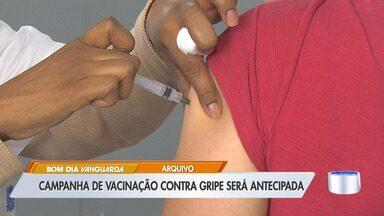 Governo antecipa vacinação contra a gripe para 23 de março - Campanha de vacinação estava prevista para abril, mas com coronavírus governo antecipou imunização.