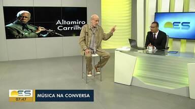 Música na Conversa: Edu Henning fala da trajetória de Altamiro Carrilho - Quadro fala das trajetórias de músicos brasileiros.
