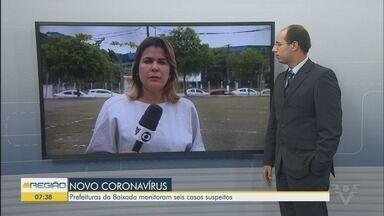 Prefeituras da Baixada Santista monitoram seis casos suspeitos de coronavírus - Casos suspeitos são de pessoas que estiveram na Itália nos últimos dias.