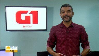 Os destaques do G1 Sergipe com Anderson Barbosa - Os destaques do G1 Sergipe com Anderson Barbosa.