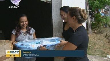 Em Manaus, 'projeto Aconchego' ajuda mães no enxoval de bebês recém-nascidos - Projeto reúne voluntários.