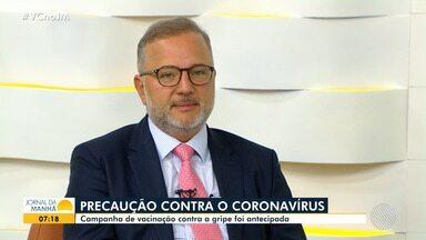 Secretário de saúde do estado fala sobre casos suspeitos de coronavírus na Bahia - Fábio Vilas-Boas explica como a doença está sendo acompanhada no estado, bem como os cuidados para evitá-la.
