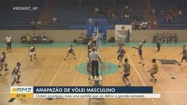 Ginásio Avertino Ramos recebe mais uma etapa do Amapazão de Vôlei Masculino - Ontem aconteceu mais uma partida que vai definir o grande campeão da competição.