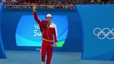 Nadador chinês Sun Yang é suspenso por não colaborar com autoridades antidoping - Nadador chinês Sun Yang é suspenso por não colaborar com autoridades antidoping