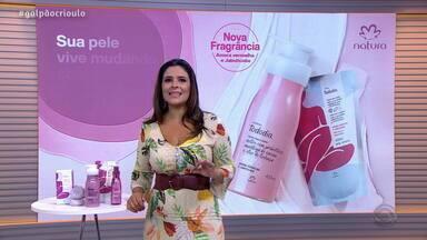 Shana Muller ensina como manter a pele bem cuidada com os produtos da Natura - Assista ao vídeo.