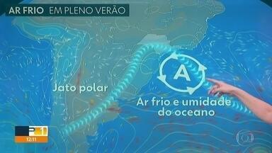Confira a previsão do tempo para o fim de semana - Capital experimenta frio atípico para o mês de fevereiro.