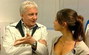 Nos bastidores da peça de Marco Nanini - Sarah Oliveira conversa com o ator e mostra sua preparação para entrar no palco.