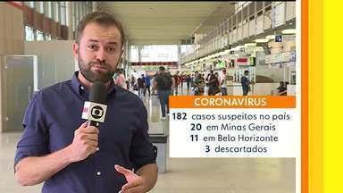 Tire suas dúvidas sobre o coronavírus - Minas tem 17 casoso suspeitos de coronavírus.