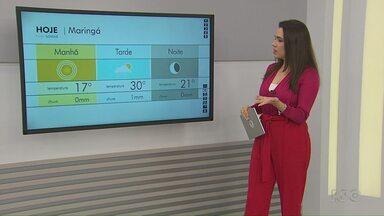 Veja a previsão do tempo para este fim de semana - Dados são da Somar Meteorologia.