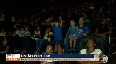 Projeto atende crianças com distúrbios sensoriais em Floriano - Projeto atende crianças com distúrbios sensoriais em Floriano