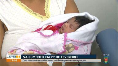 Ano bissexto: pelo menos 10 bebês nascem em maternidade de CG - 29 de fevereiro só acontece de 4 em 4 anos.