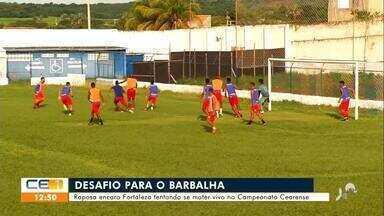 Barbalha se prepara para enfrentar Fortaleza - Saiba mais no g1.com.br/ce