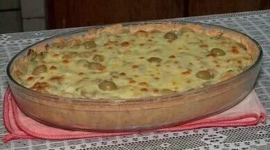 Aprenda a preparar uma torta de bacalhau com uvas - Aprenda a preparar uma torta de bacalhau com uvas