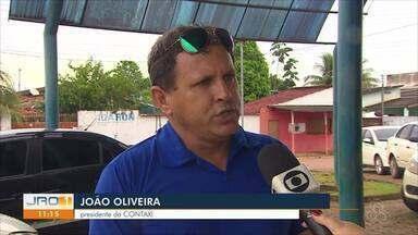 Associação dos taxistas reclamam de transporte clandestino em Porto Velho - Motoristas cobram por trechos e lotação.