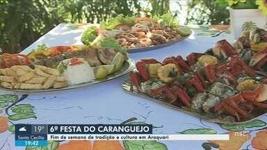 Festa do Caranguejo chega a sexta edição no Norte do estado; conheça - Festa do Caranguejo chega a sexta edição no Norte do estado; conheça