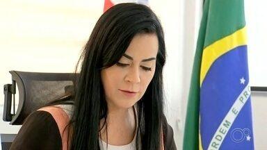 Decisão do STF mantém prefeita afastada do cargo em Araçariguama - Pedido de afastamento de Lili Aymar foi aceito no dia 18 de outubro. Segundo o MP, ela teria autorizado que seu marido tivesse um espaço no prédio. Carlos Aymar foi preso recebendo propina.