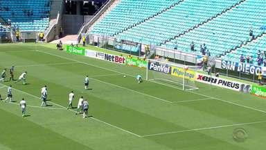 Grêmio bate o Juventude no primeiro jogo do segundo turno do Gauchão - Tricolor marcou três gols no time da Serra.