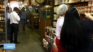 Um lugar em Uberaba: Mercado Municipal é o lugar favorito da repórter Erika Machado - Para homenagear os 200 anos de Uberaba, repórteres da TV Integração mostram quais são os lugares favoritos deles na cidade. Matérias foram exibidas até este sábado (29).