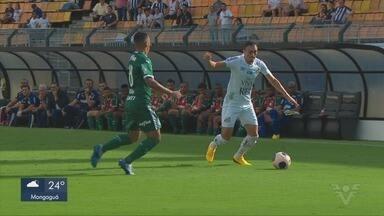 Santos e Palmeiras empatam em jogo pelo campeonato paulista - Times paulistas jogaram no Pacaembu, na tarde deste sábado (29).