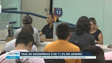 IBGE apresenta 1ª taxa de desemprego de 2020 com 11,9 milhões de brasileiros sem emprego - Taxa ficou em 11,2% da população acima de 14 anos fora do mercado de trabalho.