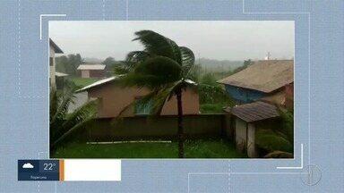 Semana começa com vários transtornos por causa da chuva em Campos, no RJ - Confira como está a rotina do campista depois da chuva forte.