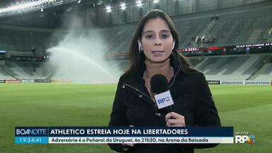 Athletico estreia hoje na libertadores - Jogo acontece na Arena da Baixada.