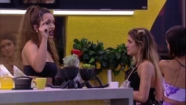 Rafa aponta para Gabi: 'Não foi você que eliminou o Guilherme' - Rafa aponta para Gabi: 'Não foi você que eliminou o Guilherme'