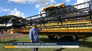 Feira agropecuária de Paranavaí começa na sexta-feira (06) - Comerciantes esperam vender mais que no ano passado.